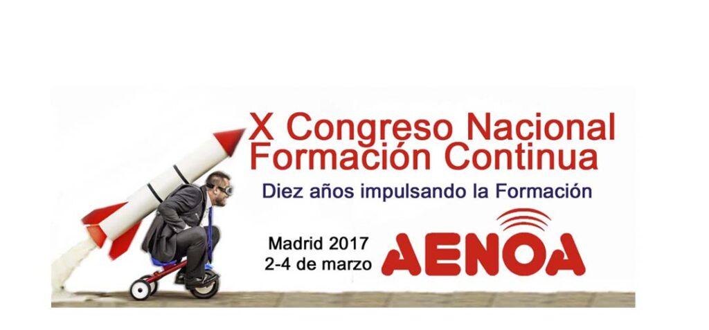 X Congreso de Formación Continua de Aenoa