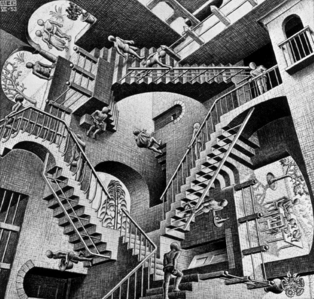 Escher, exposición en el Palacio de Gaviria