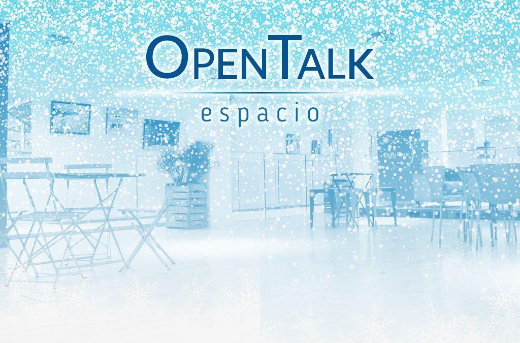 Celebra la comida y/o fiesta de empresa en OpenTalk