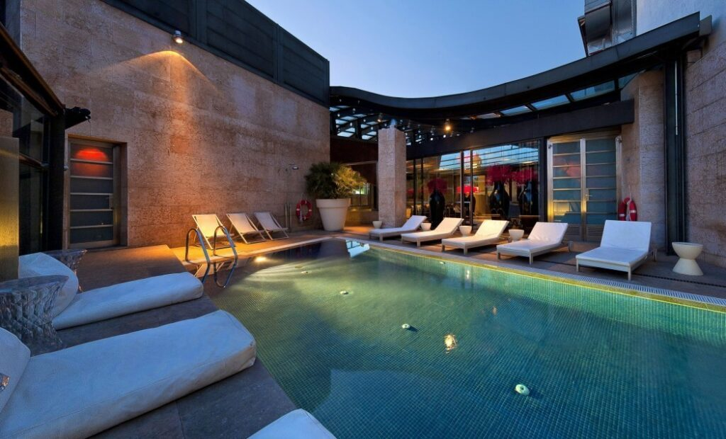Las mejores piscinas de Hoteles de Madrid
