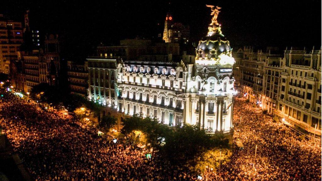 Luna de Octubre en Madrid